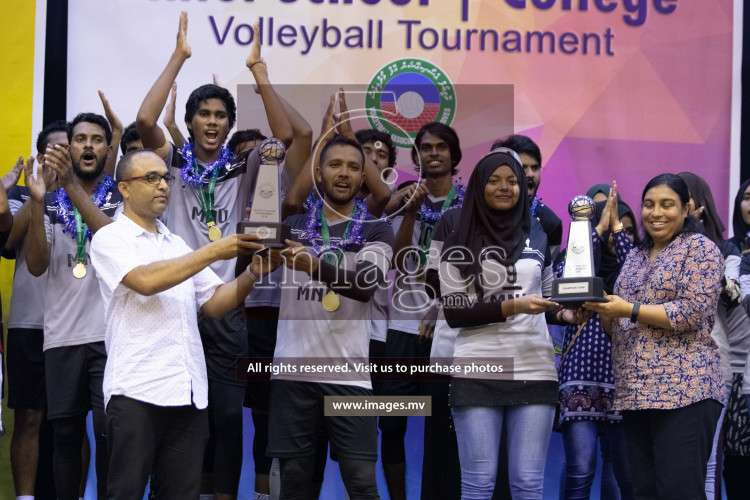 Maldives National University and Villa College in the final